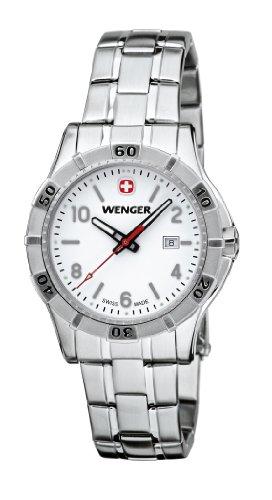 Wenger - 010921103 - Montre Femme - Quartz Analogique - Bracelet Acier Inoxydable Argent