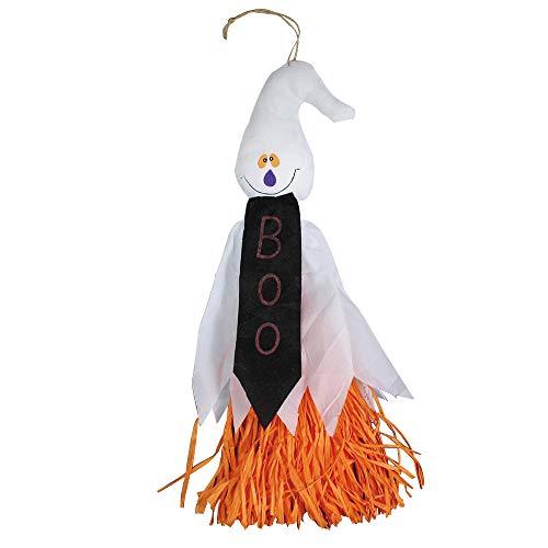 Heetey Halloween Dekoration 1 stücke Halloween Requisiten Papier Durable Anhänger Gespenst Geist Gruselig Hängend Türvorhang für Halloween Tür Deko für Ghost Festival House Graden (Bane Katze Kostüm)