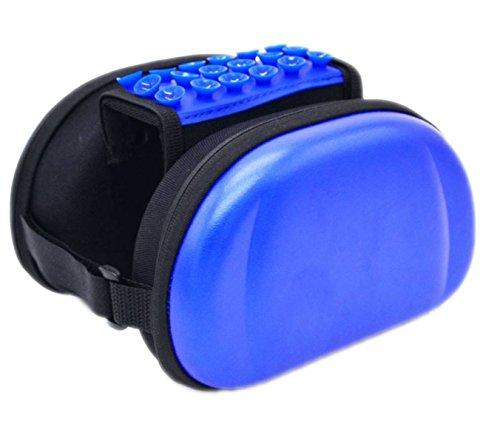 OGTOP Mountainbike-Touch Screen Satteltasche Harte Schale Wasserdicht Telefon Tasche Reitausrüstung Zubehör Blue
