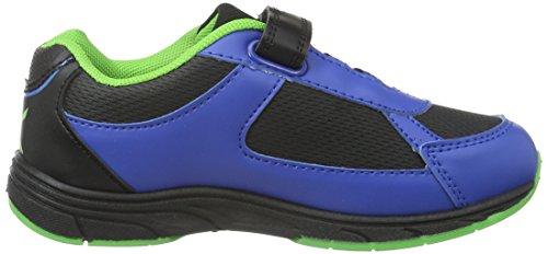 Turtles Boys Kids Athletic Sport, Baskets Basses Garçon Bleu - Blau (Cb/Blk/Bk/Bk 198)