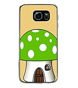 Green Mushroom 2D Hard Polycarbonate Designer Back Case Cover for Samsung Galaxy S6 Edge+ :: Samsung Galaxy S6 Edge Plus :: Samsung Galaxy S6 Edge+ G928G :: Samsung Galaxy S6 Edge+ G928F G928T G928A G928I