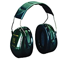 3m Peltor Optime Ii Earmuffs, 31 Db, Green, Headband, H520a-407-gq