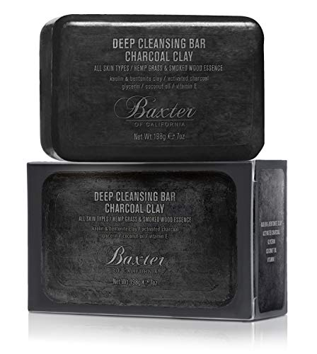 Baxter Of California Charcoal Clay Deep Cleansing Bar, 7.0 Oz - Akne-cleansing Bar