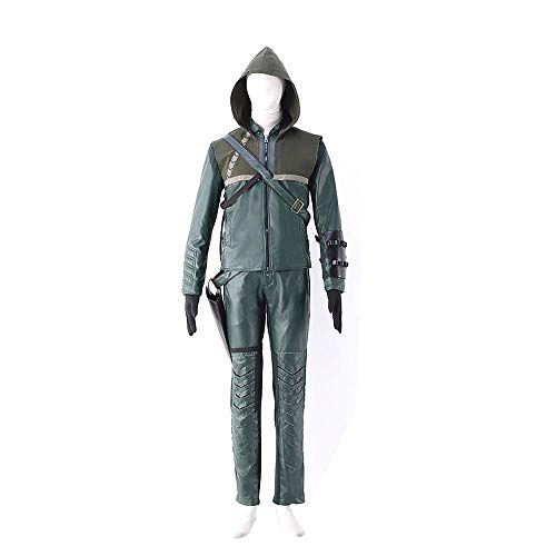 Kostüm Green Cosplay Arrow - Dream2Reality Green Arrow Cosplay Kostuem Green Arrow Ver.1 Suits Season1 Season2 Small