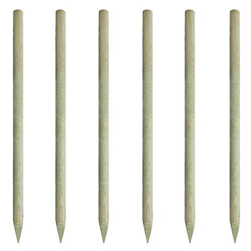 vidaxl-lot-de-6-piquets-cloture-en-bois-200-cm