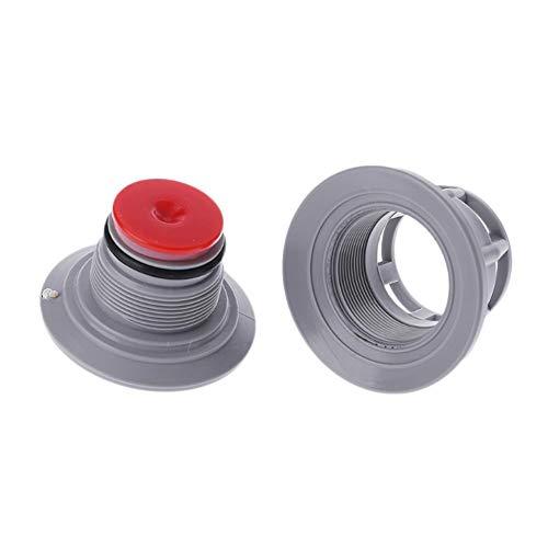 LiféUP 8 - Válvula de Aire de Orificio/Bote Inflable para Kayak Válvula Adaptador de bonete/Accesorios Válvula de Aire Adaptador de Tapa de válvula