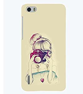 PRINTSWAG GIRL WITH CAMERA Designer Back Cover Case for HUAWEI HONOR 6