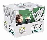 LINEX 100412201 Tafelkreide weiß 100 Stück in einem Paket Wandtafel-Kreide...