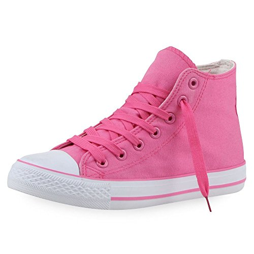 Japado , Sneakers Basses femme Rose - Total Pink