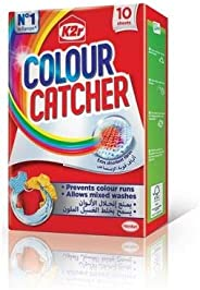 K2R Colour Catcher, 10 Sheets, Pack of 1