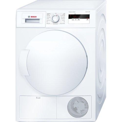 Bosch Serie 4 WTH83001FF Autonome Charge avant 7kg A+ Blanc sèche-linge - Sèche-linge (Autonome, Charge avant, Pompe à chaleur, Blanc, boutons, Rotatif, Droite)