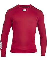 Canterbury Herren Bekleidung Long Sleeve Shirt Baselayer Cold Wärmend