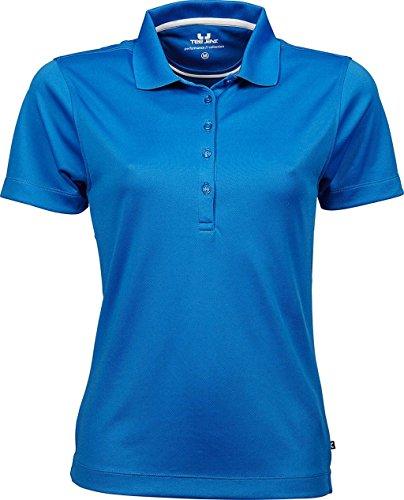 Ladies Performance Polo Bleu - Azur