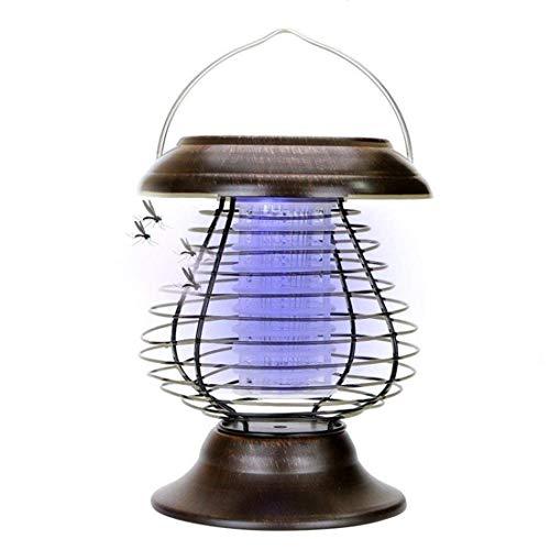 Solar-Fackel Light Solar Mosquito Lampe Solar Powered Bug Zapper Mücken Killer Fly Insekten Falle Wasserdicht-Mit Nachtlicht Für Indoor/Outdoor-Einsatz