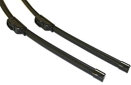Aerzetix Set di spazzole per tergicristalli.