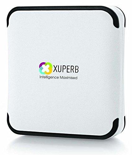 Xuperb XU-M2 Power Bank 10000 mAh (White-Black)