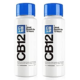 CB12 250ML 2 PACK Mint / Menthol Mouthwash…