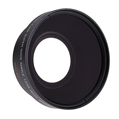 67mm 0,43 X Lente Gran Angular Macro para Cámara Canon 18-135 Nikon 18-105