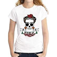 Amazon Es Frida Kahlo Camiseta