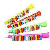 HVdsyf Lustige Instrument Spielzeug, Kinder Kinder 13-key Leichte Melodica Kunststoff Klarinette Musik Instrument Spielzeug Zufällige Farbe