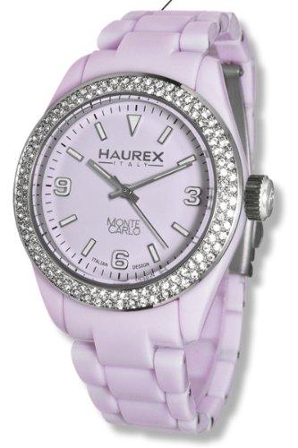 Haurex Italy Damen-Armbanduhr Monte Carlo Analog Plastik PL360DL1
