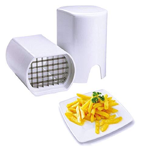 Kartoffelhacker Praktische Kartoffelchips Pommes und Gemüsesticks Cutter Slicer Pommes Frites Schneider Home Kitchen Tools