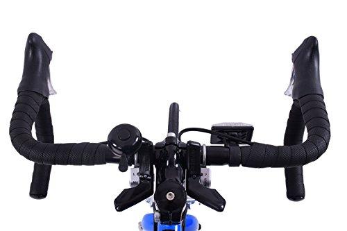 "41FBgv1AbOL - Ammaco VELOCITY JUNIOR 14 SPEED RACING ROAD SPORTS BIKE 24"" WHEEL BLUE AGE 9+"