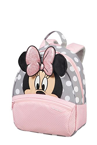 Samsonite disney ultimate 2.0 - backpack small zainetto per bambini, 28 cm, 7 liters, multicolore (minnie glitter)