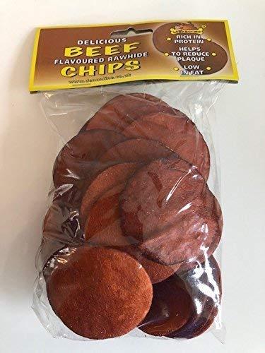 Lazybones Rindfleisch aromatisiert Rohleder Chips 150g -