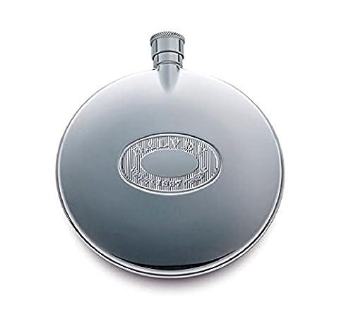 Dalvey Classic Compact Hip Flask (75ml)