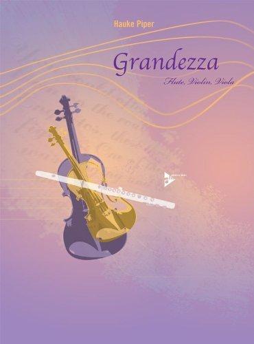 PARTITIONS JAZZ&BLUES ADVANCE MUSIC PIPER H    GRANDEZZA   FLUTE  VIOLIN AND VIOLA FLUTE TRAVERSIERE