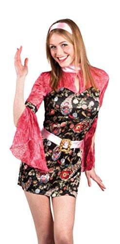 Boland 83620 - Erwachsenenkostüm Party chick, (Kostüm Chick Hippie 70's)