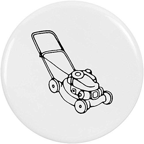 Azeeda 2 x 38mm 'Rasenmäher' Pin Knopf-Abzeichen (BB00047949) (Rasenmäher-pin)