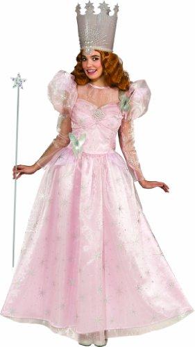 Imagen de rubie 's oficial glinda la bruja buena mago de oz disfraz adulto mediano alternativa