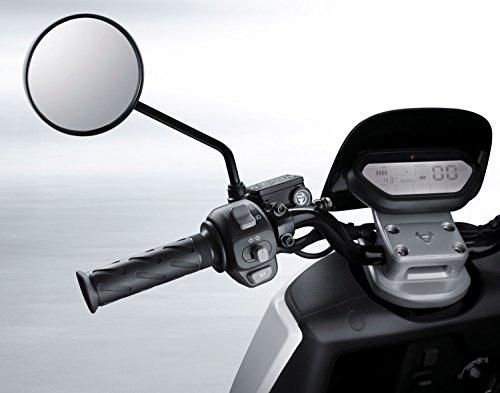 NIU N1S Elektroroller E-Scooter - Panasonic Li-Ion Akku - 80 km Reichweite - Bosch Motor - 45 km/h - Zweisitzer // (Rot)