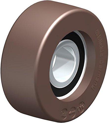 BLICKLE FPU 50x 20/15–11K Rad, 5cm Durchmesser, 154LB. Tragkraft
