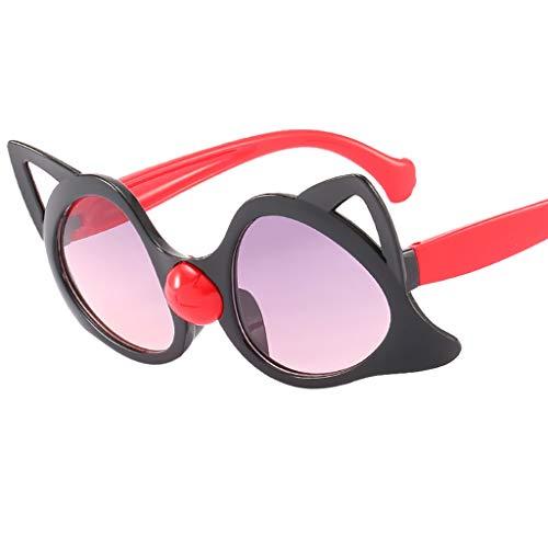 iYmitz Kinder Jahrgang Sonnenbrillen, Auge Retro Brillen Mode Klassische Strahlung Brillenträger...