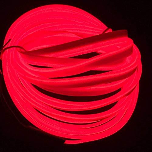 5M / 16FT EL Draht, Neonlicht DIY Dekoration Glowing EL Seil mit USB Inverter für Parteien Weihnachten Cosplay ()