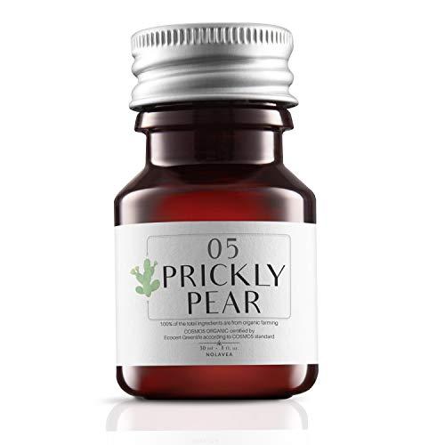 Huile de Figue de Barbarie 100% Végétale - 30 ml - Huile Bio Made in France - Haute Qualité: Pressée à Froid et Vierge - Cheveux, Visage, Rides, Cicatrices - Régénérante, Hydratante et Réparatrice