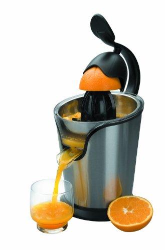Lacor 69285 Exprimidor Zumo de Naranja eléctrico con Brazo, Acero Inoxidable, Libre de BPA, 100 W, 85