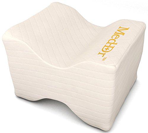 Rodilla Alivio del Dolor de almohada sciatic nervios, Pierna, espalda, cintura, memoria Embarazo–Cuña de espuma con cubierta transpirable