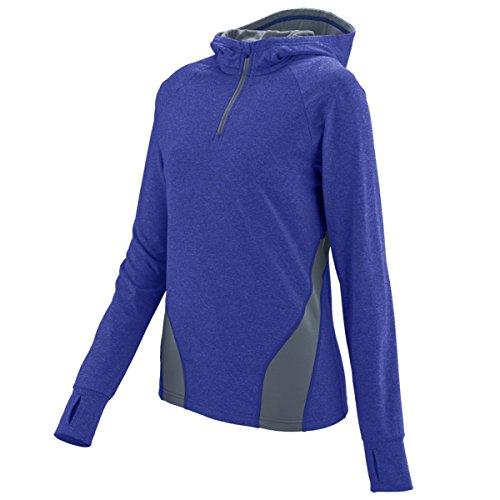 Augusta Sportswear Women'S Freedom Pullover Xl Purple/Graphite Heather