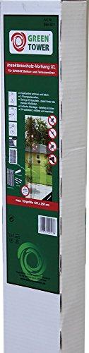 GREEN TOWER Insektenschutz- Vorhang 120X250 Anthrazit
