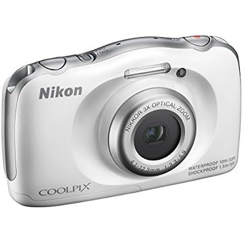 Nikon Coolpix S33 - Cámara compacta de 13.2 Mp (pantalla de 3