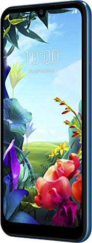 LG K40s Smartphone (15,46 cm (6,09 Zoll) IPS LC-Display, 32 GB interner Speicher, 2 GB RAM, MIL-STD-810G, Android 9.0) Moroccan Blue
