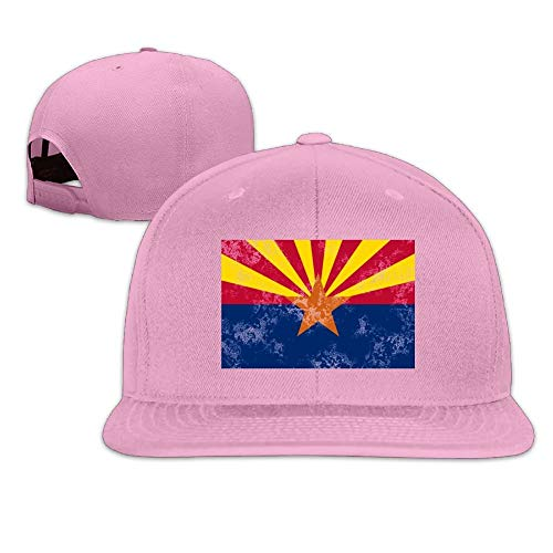 VTXINS Cactus Arizona Flag 2 Snapback Unisex Flat Bill Visor Baseball Cap