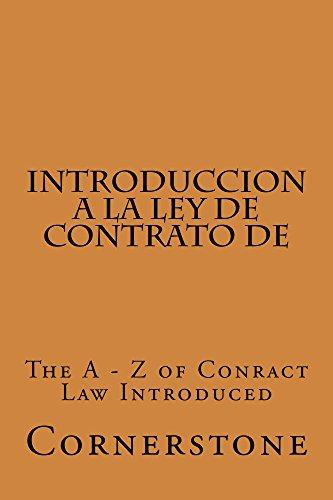 Introduccion a la Ley de Contrato de (Electronic Borrowing OK): (Electronic Borrowing OK) por Value Bar Prep books