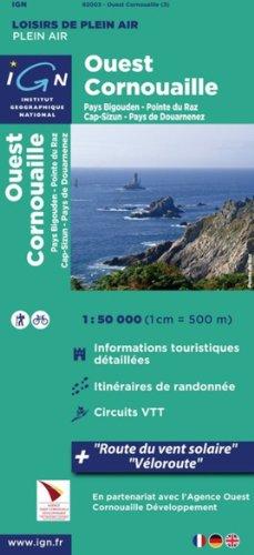 82003 OUEST CORNOUAILLE/KORNOG KERNE  1/50.000