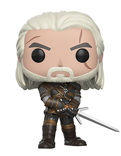 Funko Pop! Games: The Witcher - Geralt Vinyl Figure