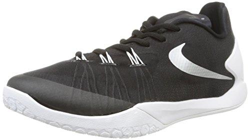 ... argenté métallique - blanc). Nike Hyperchase Tb, Chaussures de Sport-Basketball  Homme, Noir/Blanc Noir /